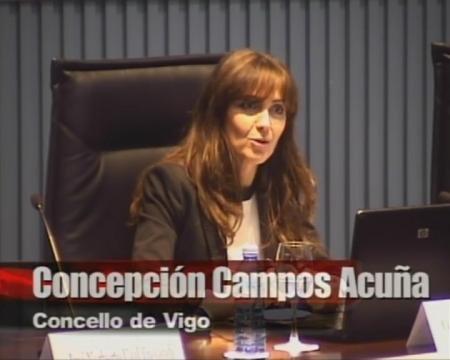 Concepción Campos Acuña. Secretaria da Xunta de Goberno Local do Concello de Vigo - Xornada sobre a Directiva de Servizos e a Administración Local